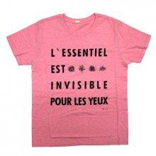tio「L'ESSENTIEL  EST  INVISIBLE  POUR 」  Tシャツ