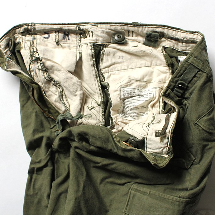 EHS Vintage U.S.ARMY M-65 フィールドパンツ S/R Used-02<img class='new_mark_img2' src='//img.shop-pro.jp/img/new/icons47.gif' style='border:none;display:inline;margin:0px;padding:0px;width:auto;' /> 02