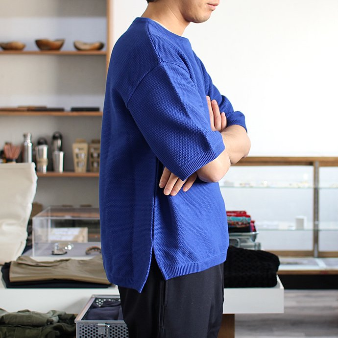 crepuscule crepuscule / MESH S/S クルーネックプルオーバー - Greybeige(グレーベージュ)1601-006<img class='new_mark_img2' src='//img.shop-pro.jp/img/new/icons47.gif' style='border:none;display:inline;margin:0px;padding:0px;width:auto;' /> 02