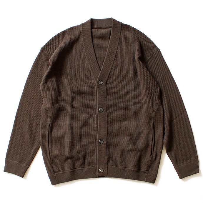 100491382 crepuscule / THERMAL C/D サーマル カーディガン - Brown(ブラウン)<img class='new_mark_img2' src='//img.shop-pro.jp/img/new/icons47.gif' style='border:none;display:inline;margin:0px;padding:0px;width:auto;' /> 01