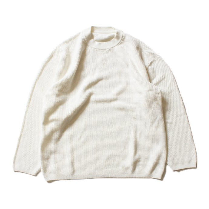 crepuscule crepuscule / THERMAL P/O サーマル クルーネックプルオーバー 1601-003 - White(ホワイト)<img class='new_mark_img2' src='//img.shop-pro.jp/img/new/icons47.gif' style='border:none;display:inline;margin:0px;padding:0px;width:auto;' /> 01