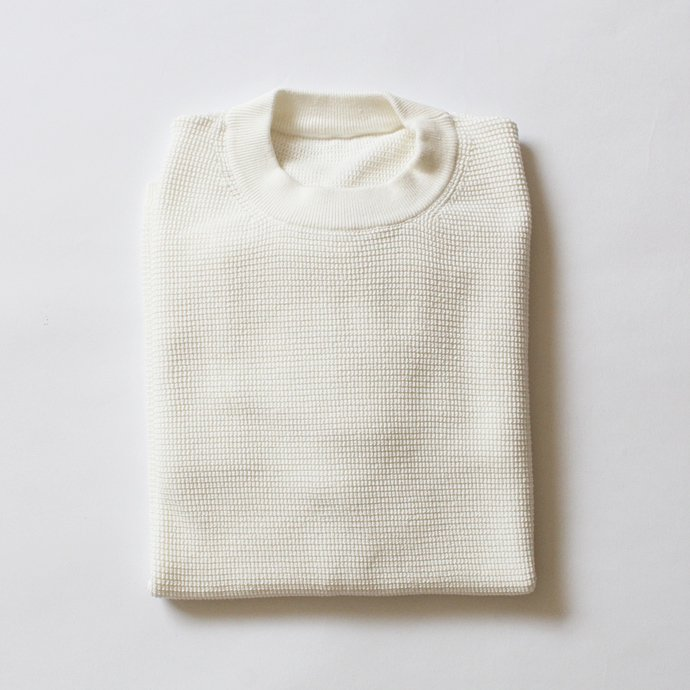crepuscule crepuscule / THERMAL P/O サーマル クルーネックプルオーバー 1601-003 - White(ホワイト)<img class='new_mark_img2' src='//img.shop-pro.jp/img/new/icons47.gif' style='border:none;display:inline;margin:0px;padding:0px;width:auto;' /> 02