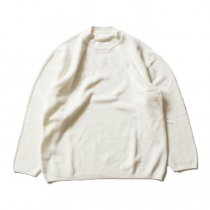 crepuscule / THERMAL P/O サーマル クルーネックプルオーバー 1601-003 - White(ホワイト)<img class='new_mark_img2' src='//img.shop-pro.jp/img/new/icons47.gif' style='border:none;display:inline;margin:0px;padding:0px;width:auto;' />