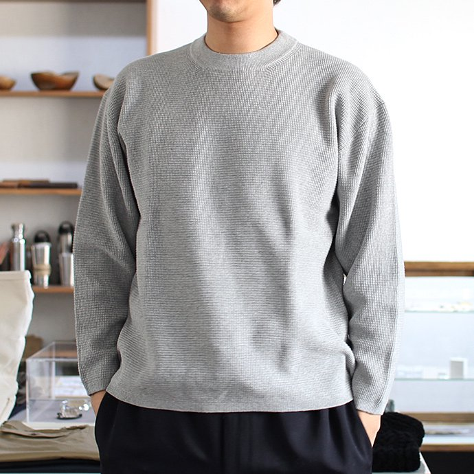 crepuscule crepuscule / THERMAL P/O サーマル クルーネックプルオーバー 1601-003 - L. Gray(ライトグレー)<img class='new_mark_img2' src='//img.shop-pro.jp/img/new/icons47.gif' style='border:none;display:inline;margin:0px;padding:0px;width:auto;' /> 02