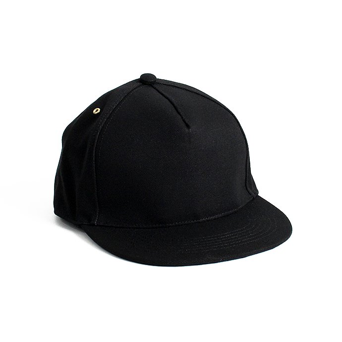 Trad Marks Trad Marks / Basic Cap CV ベーシックキャップ キャンバス - Black<img class='new_mark_img2' src='//img.shop-pro.jp/img/new/icons47.gif' style='border:none;display:inline;margin:0px;padding:0px;width:auto;' /> 01
