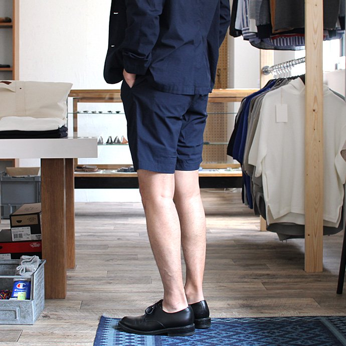 101539154 STILL BY HAND / コード織シャツ素材ショートパンツ PT0562 - ネイビー<img class='new_mark_img2' src='//img.shop-pro.jp/img/new/icons20.gif' style='border:none;display:inline;margin:0px;padding:0px;width:auto;' /> 02