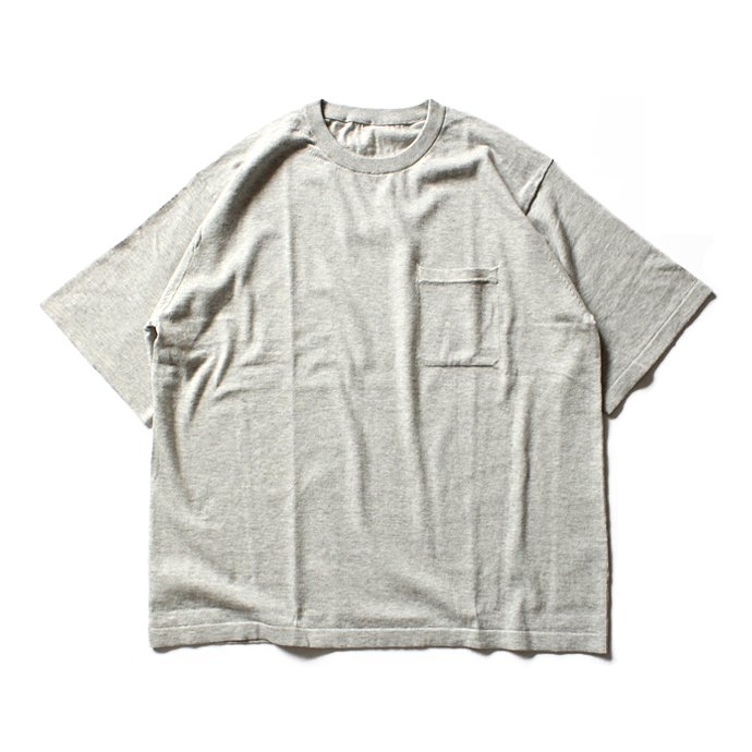 crepuscule crepuscule / Knit T-Shirt ニットTシャツ 1601-010 - L.Gray(ライトグレー)<img class='new_mark_img2' src='//img.shop-pro.jp/img/new/icons47.gif' style='border:none;display:inline;margin:0px;padding:0px;width:auto;' /> 01