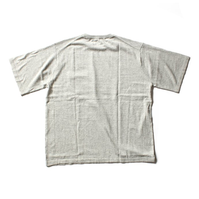 crepuscule crepuscule / Knit T-Shirt ニットTシャツ 1601-010 - L.Gray(ライトグレー)<img class='new_mark_img2' src='//img.shop-pro.jp/img/new/icons47.gif' style='border:none;display:inline;margin:0px;padding:0px;width:auto;' /> 02