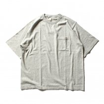 crepuscule crepuscule / Knit T-Shirt ニットTシャツ 1601-010 - L.Gray(ライトグレー)<img class='new_mark_img2' src='//img.shop-pro.jp/img/new/icons47.gif' style='border:none;display:inline;margin:0px;padding:0px;width:auto;' />