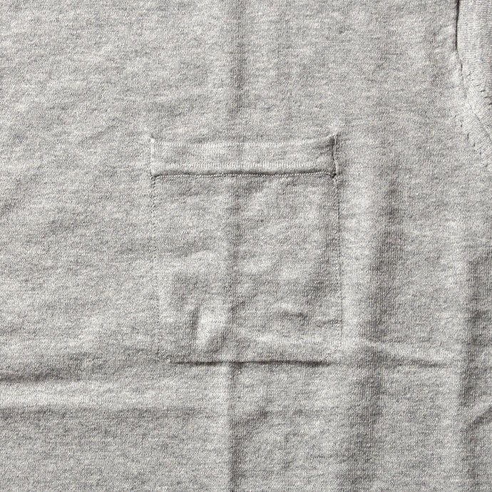 crepuscule crepuscule / Knit T-Shirt ニットTシャツ 1601-010 - Gray(グレー)<img class='new_mark_img2' src='//img.shop-pro.jp/img/new/icons48.gif' style='border:none;display:inline;margin:0px;padding:0px;width:auto;' /> 02