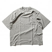 crepuscule crepuscule / Knit T-Shirt ニットTシャツ 1601-010 - Gray(グレー)<img class='new_mark_img2' src='//img.shop-pro.jp/img/new/icons48.gif' style='border:none;display:inline;margin:0px;padding:0px;width:auto;' />