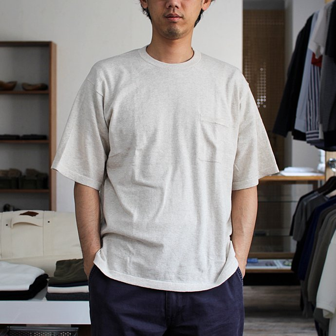 crepuscule crepuscule / Knit T-Shirt ニットTシャツ 1601-010 - Beige(ベージュ)<img class='new_mark_img2' src='//img.shop-pro.jp/img/new/icons47.gif' style='border:none;display:inline;margin:0px;padding:0px;width:auto;' /> 02