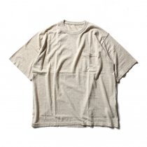 crepuscule crepuscule / Knit T-Shirt ニットTシャツ 1601-010 - Beige(ベージュ)<img class='new_mark_img2' src='//img.shop-pro.jp/img/new/icons47.gif' style='border:none;display:inline;margin:0px;padding:0px;width:auto;' />