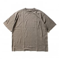 crepuscule crepuscule / Knit T-Shirt ニットTシャツ 1601-010 - Brown(ブラウン)<img class='new_mark_img2' src='//img.shop-pro.jp/img/new/icons47.gif' style='border:none;display:inline;margin:0px;padding:0px;width:auto;' />
