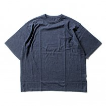 crepuscule crepuscule / Knit T-Shirt ニットTシャツ 1601-010 - Navy(ネイビー)<img class='new_mark_img2' src='//img.shop-pro.jp/img/new/icons47.gif' style='border:none;display:inline;margin:0px;padding:0px;width:auto;' />