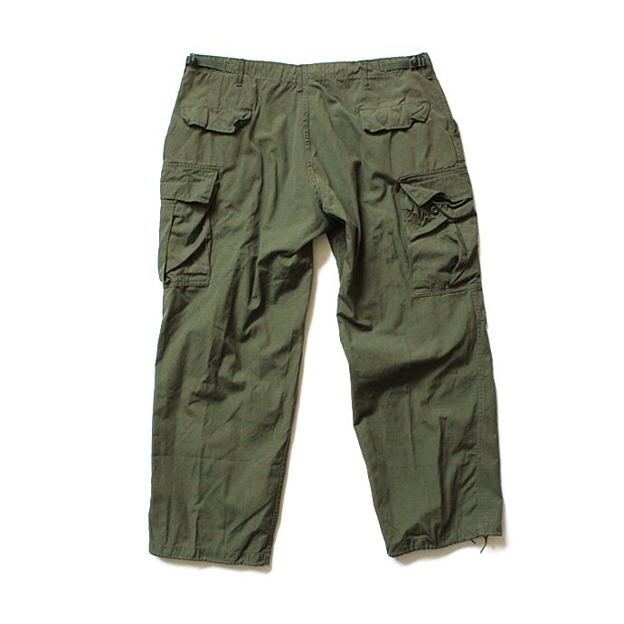 102347086 U.S. ARMY / 60s ジャングルファティーグパンツ リップストップ XL/R<img class='new_mark_img2' src='//img.shop-pro.jp/img/new/icons47.gif' style='border:none;display:inline;margin:0px;padding:0px;width:auto;' /> 02