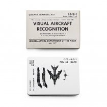 EHS Vintage U.S.ARMY / Visual Aircraft Recognition Cards 航空機識別認識用カード