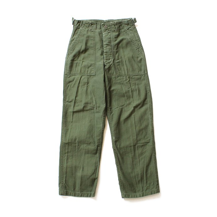 happening U.S. ARMY / 60s Utility Pants ユーティリティーパンツ タブ付き S<img class='new_mark_img2' src='//img.shop-pro.jp/img/new/icons47.gif' style='border:none;display:inline;margin:0px;padding:0px;width:auto;' /> 01