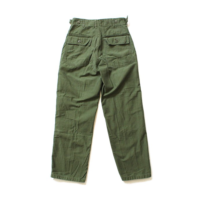 happening U.S. ARMY / 60s Utility Pants ユーティリティーパンツ タブ付き S<img class='new_mark_img2' src='//img.shop-pro.jp/img/new/icons47.gif' style='border:none;display:inline;margin:0px;padding:0px;width:auto;' /> 02