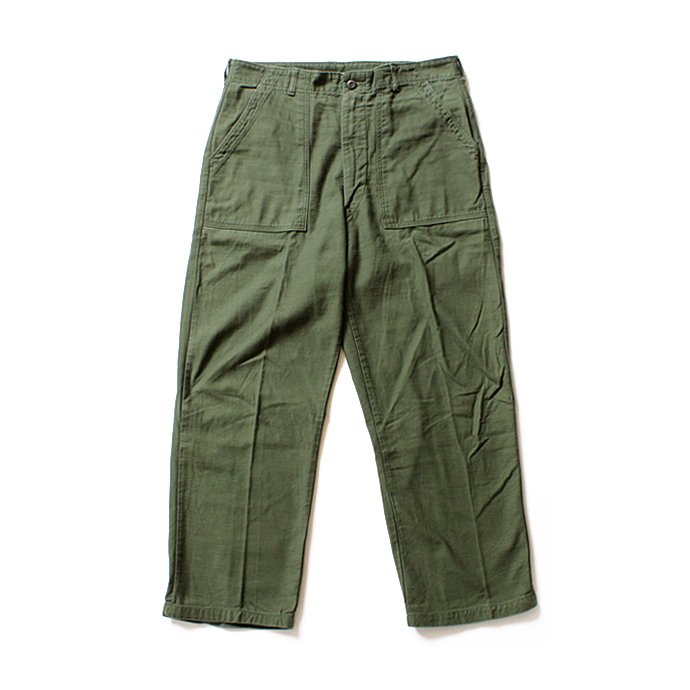 happening U.S. ARMY / 70s Utility Pants ユーティリティーパンツ ジップフロント 36x31<img class='new_mark_img2' src='//img.shop-pro.jp/img/new/icons47.gif' style='border:none;display:inline;margin:0px;padding:0px;width:auto;' /> 01