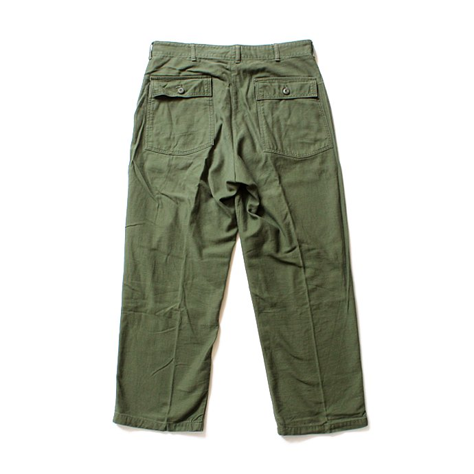 happening U.S. ARMY / 70s Utility Pants ユーティリティーパンツ ジップフロント 36x31<img class='new_mark_img2' src='//img.shop-pro.jp/img/new/icons47.gif' style='border:none;display:inline;margin:0px;padding:0px;width:auto;' /> 02