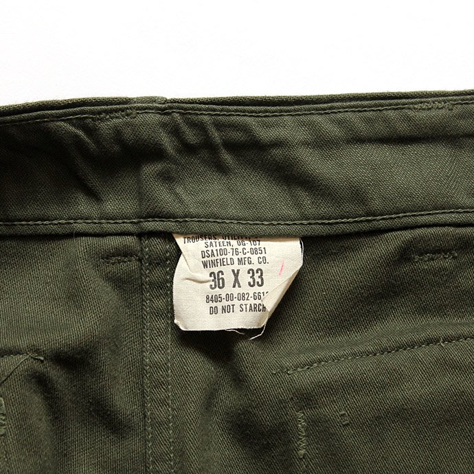 happening U.S. ARMY / 70s Utility Pants ユーティリティーパンツ 36x33<img class='new_mark_img2' src='//img.shop-pro.jp/img/new/icons47.gif' style='border:none;display:inline;margin:0px;padding:0px;width:auto;' /> 02