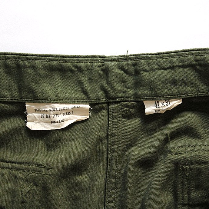 happening U.S. ARMY / 70s Utility Pants ユーティリティーパンツ 42x31 02