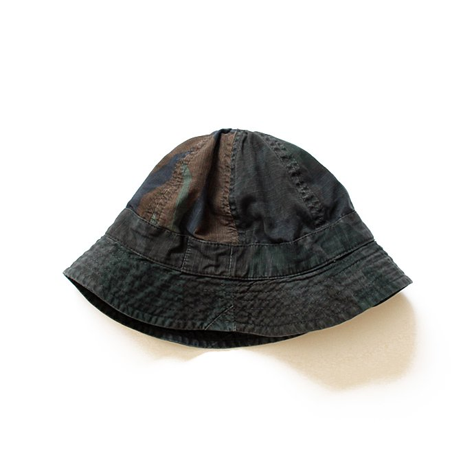 Hexico Hexico / Deformer Hat - Fabric Ex. U.S. Wood Camo Over Dye - A<img class='new_mark_img2' src='//img.shop-pro.jp/img/new/icons47.gif' style='border:none;display:inline;margin:0px;padding:0px;width:auto;' />