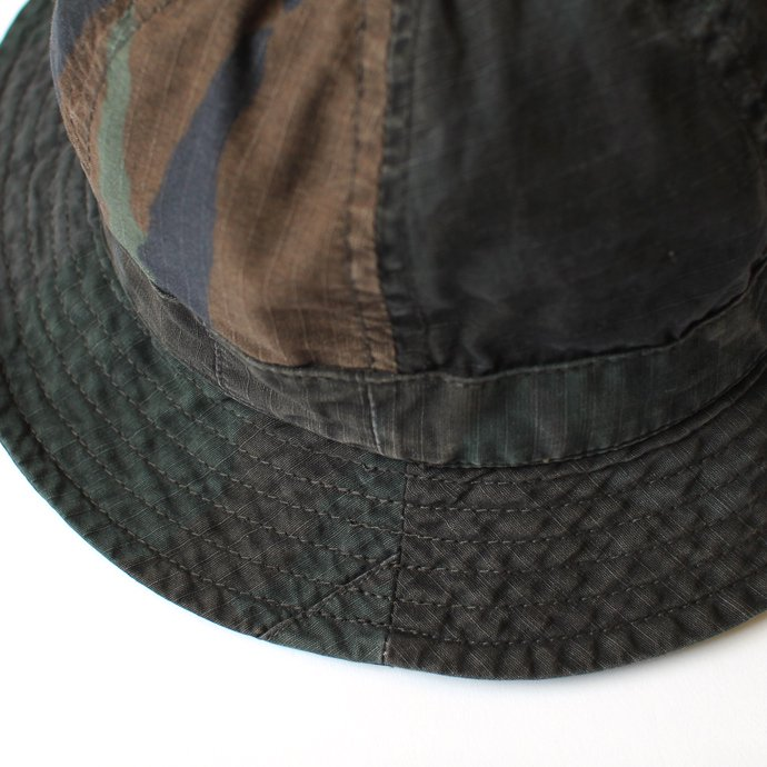 Hexico Hexico / Deformer Hat - Fabric Ex. U.S. Wood Camo Over Dye - A<img class='new_mark_img2' src='//img.shop-pro.jp/img/new/icons47.gif' style='border:none;display:inline;margin:0px;padding:0px;width:auto;' /> 02