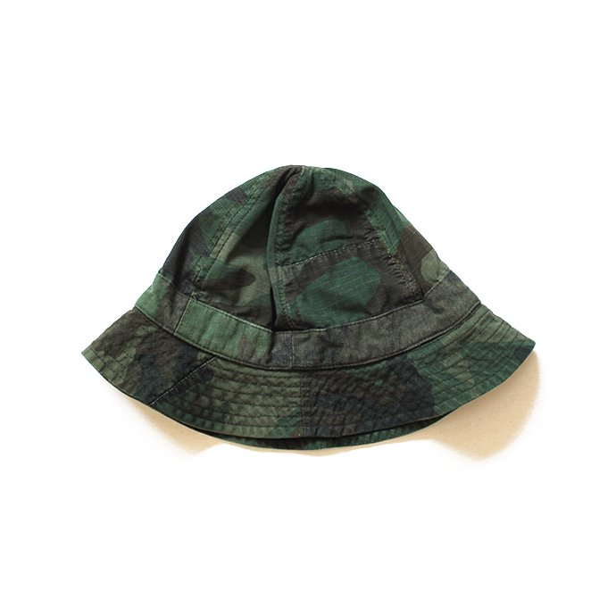 Hexico Hexico / Deformer Hat - Fabric Ex. U.S. Wood Camo Over Dye - B<img class='new_mark_img2' src='//img.shop-pro.jp/img/new/icons47.gif' style='border:none;display:inline;margin:0px;padding:0px;width:auto;' /> 01