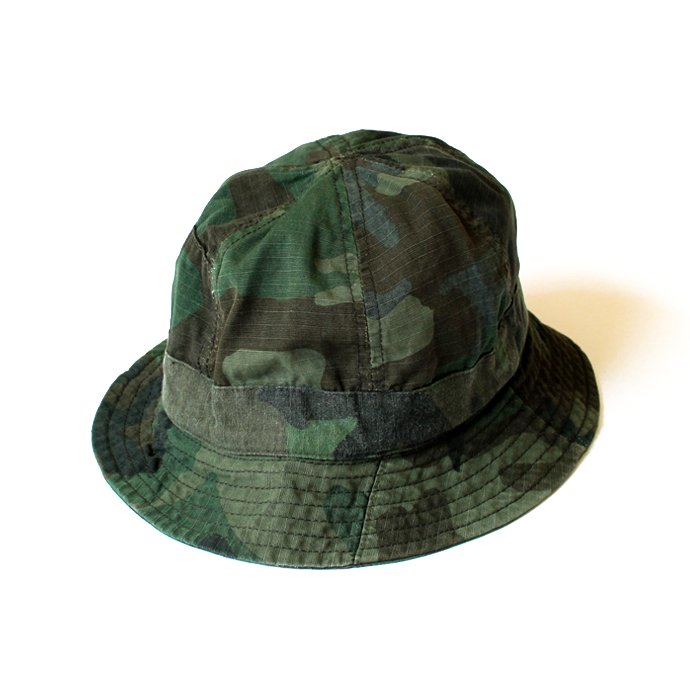 Hexico Hexico / Deformer Hat - Fabric Ex. U.S. Wood Camo Over Dye - B<img class='new_mark_img2' src='//img.shop-pro.jp/img/new/icons47.gif' style='border:none;display:inline;margin:0px;padding:0px;width:auto;' /> 02