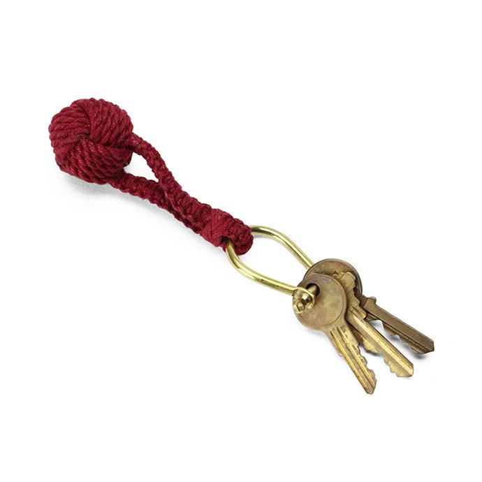 Other Brands Monkey's Fist Knot Key Ring モンキーズフィストノット キーリング - 全7色 02