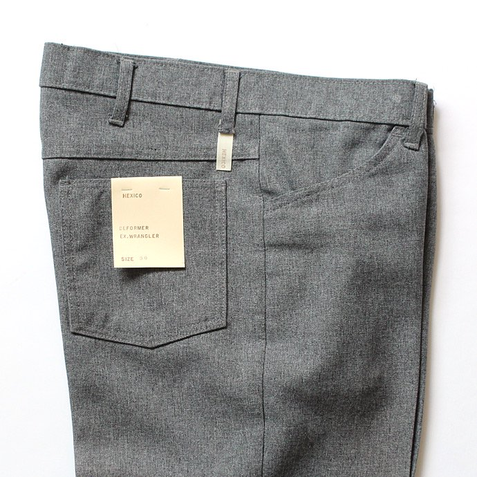 Hexico Deformer Pants - Ex. Wrangler リメイクパンツ - Grey 30<img class='new_mark_img2' src='//img.shop-pro.jp/img/new/icons47.gif' style='border:none;display:inline;margin:0px;padding:0px;width:auto;' /> 02