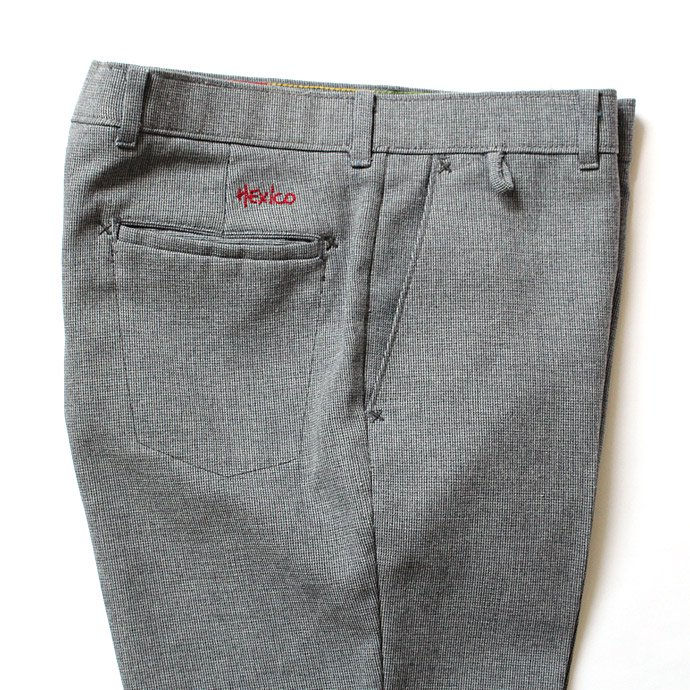 Hexico Deformer Pants - Ex. Action Slacks - Blue Grey 34<img class='new_mark_img2' src='//img.shop-pro.jp/img/new/icons47.gif' style='border:none;display:inline;margin:0px;padding:0px;width:auto;' /> 02