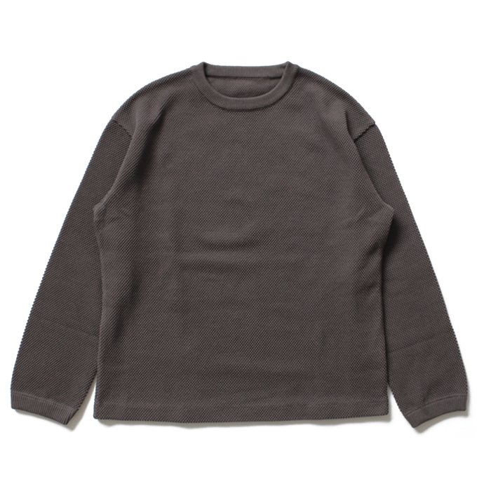 crepuscule crepuscule / moss stitch P/O 鹿の子編みクルーネックプルオーバー 1603-001 - C.Gray<img class='new_mark_img2' src='//img.shop-pro.jp/img/new/icons47.gif' style='border:none;display:inline;margin:0px;padding:0px;width:auto;' /> 01