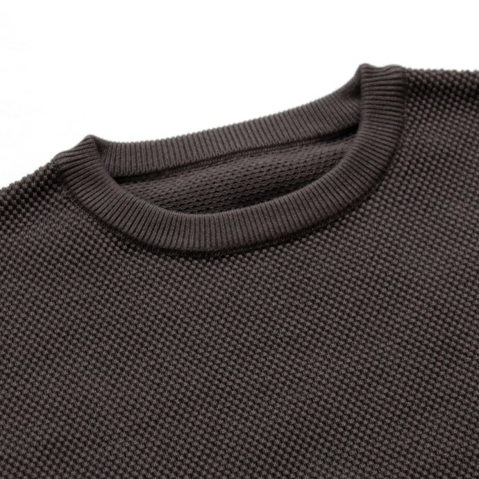 crepuscule crepuscule / moss stitch P/O 鹿の子編みクルーネックプルオーバー 1603-001 - C.Gray<img class='new_mark_img2' src='//img.shop-pro.jp/img/new/icons47.gif' style='border:none;display:inline;margin:0px;padding:0px;width:auto;' /> 02