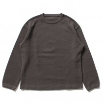 crepuscule / moss stitch P/O 鹿の子編みクルーネックプルオーバー 1603-001 - C.Gray<img class='new_mark_img2' src='//img.shop-pro.jp/img/new/icons47.gif' style='border:none;display:inline;margin:0px;padding:0px;width:auto;' />