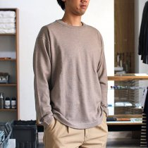 crepuscule / wool crewneck L/S ハイゲージウールクルーネックプルオーバー 1603-004 - Camel<img class='new_mark_img2' src='//img.shop-pro.jp/img/new/icons47.gif' style='border:none;display:inline;margin:0px;padding:0px;width:auto;' />