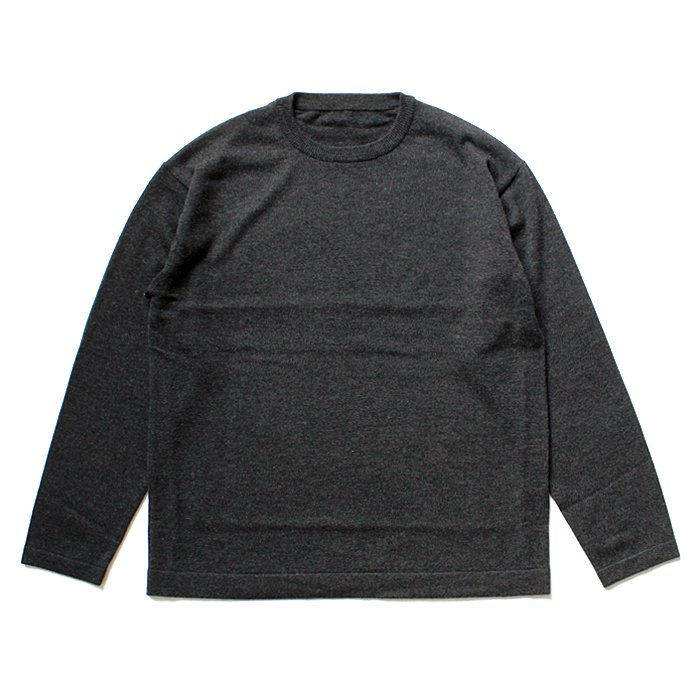 crepuscule crepuscule / wool crewneck L/S ハイゲージウールクルーネックプルオーバー 1603-004 - C.Gray<img class='new_mark_img2' src='//img.shop-pro.jp/img/new/icons47.gif' style='border:none;display:inline;margin:0px;padding:0px;width:auto;' /> 01