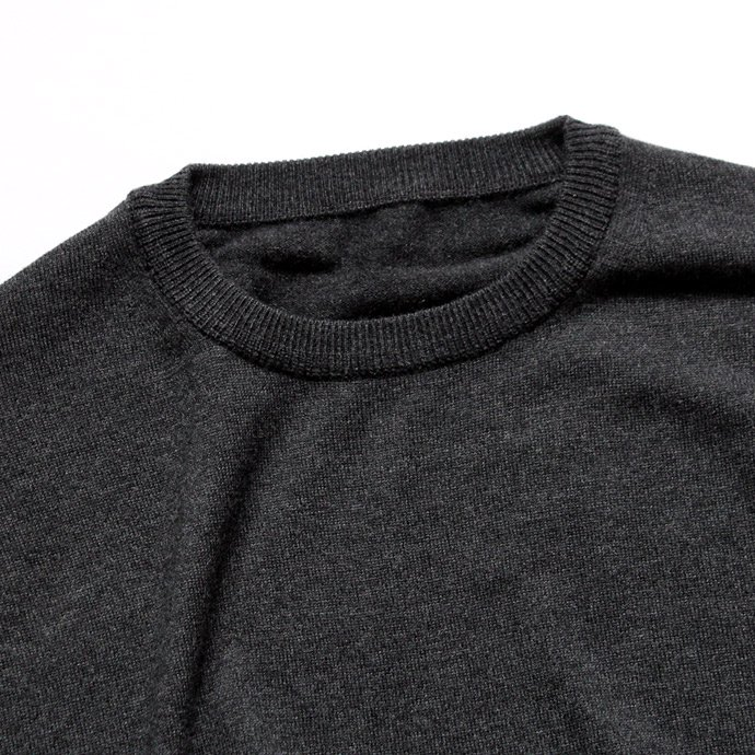 crepuscule crepuscule / wool crewneck L/S ハイゲージウールクルーネックプルオーバー 1603-004 - C.Gray<img class='new_mark_img2' src='//img.shop-pro.jp/img/new/icons47.gif' style='border:none;display:inline;margin:0px;padding:0px;width:auto;' /> 02