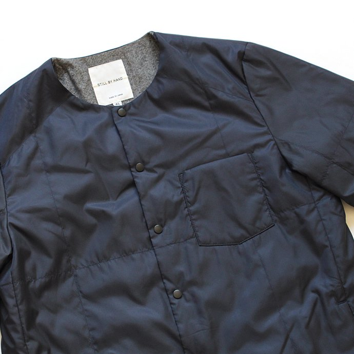 107226344 STILL BY HAND / シンサレート中綿入り ミニリップストップ インナーブルゾン BL0263 - 全3色<img class='new_mark_img2' src='//img.shop-pro.jp/img/new/icons47.gif' style='border:none;display:inline;margin:0px;padding:0px;width:auto;' /> 02