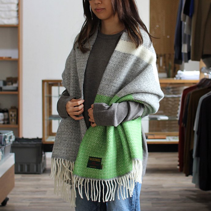 107565916 TWEEDMILL / イリュージョンパネル ブランケット - ライトグリーン<img class='new_mark_img2' src='//img.shop-pro.jp/img/new/icons47.gif' style='border:none;display:inline;margin:0px;padding:0px;width:auto;' /> 02