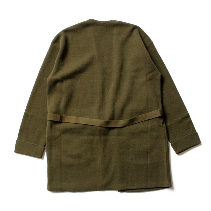 crepuscule crepuscule / Gown ニットガウン カーキ 1603-007 Khaki<img class='new_mark_img2' src='//img.shop-pro.jp/img/new/icons47.gif' style='border:none;display:inline;margin:0px;padding:0px;width:auto;' /> 02