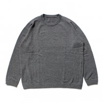 crepuscule / Whole Garment C/N ホールガーメント ハイゲージウール クルーネックセーター 1603-009 - Gray<img class='new_mark_img2' src='//img.shop-pro.jp/img/new/icons47.gif' style='border:none;display:inline;margin:0px;padding:0px;width:auto;' />