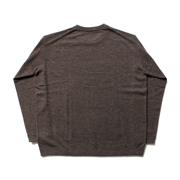 108155250 crepuscule / Whole Garment C/N ホールガーメント ハイゲージウール クルーネックセーター 1603-009 - Brown<img class='new_mark_img2' src='//img.shop-pro.jp/img/new/icons47.gif' style='border:none;display:inline;margin:0px;padding:0px;width:auto;' /> 02