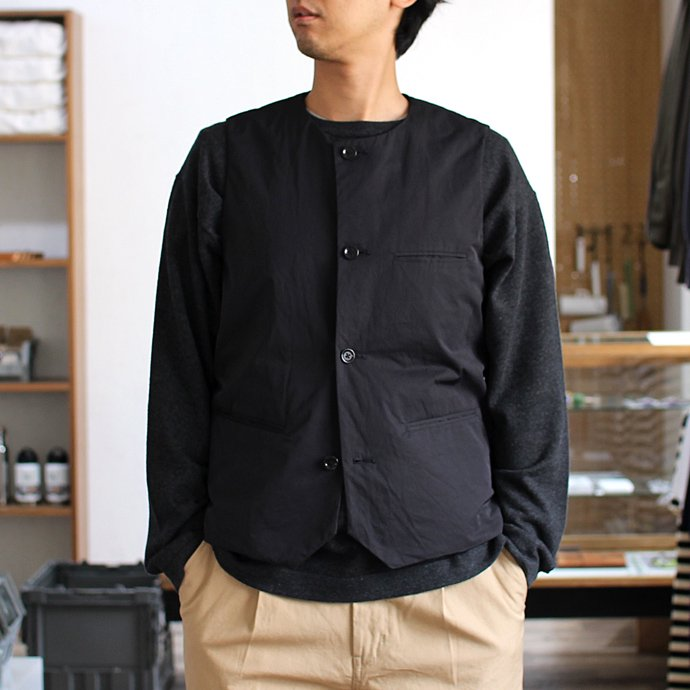 108519053 STILL BY HAND / シンサレート中綿入りインナーベスト VE0164 - 全2色<img class='new_mark_img2' src='//img.shop-pro.jp/img/new/icons47.gif' style='border:none;display:inline;margin:0px;padding:0px;width:auto;' /> 02