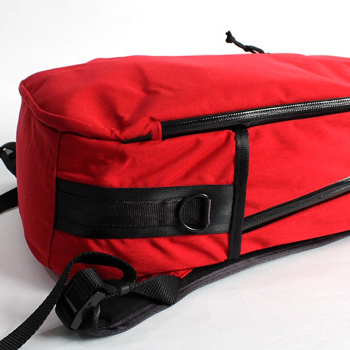 DEFY BAGS DEFY BAGS / Bucktown Pack - Red Cordura バックタウンパック コーデュラナイロン レッド<img class='new_mark_img2' src='//img.shop-pro.jp/img/new/icons47.gif' style='border:none;display:inline;margin:0px;padding:0px;width:auto;' /> 02