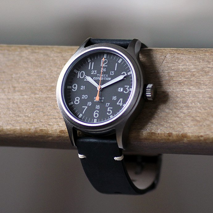 TIMEX TIMEX / Expedition Scout Metal エクスペディション スカウトメタル ブラック TW4B01900<img class='new_mark_img2' src='//img.shop-pro.jp/img/new/icons47.gif' style='border:none;display:inline;margin:0px;padding:0px;width:auto;' /> 02