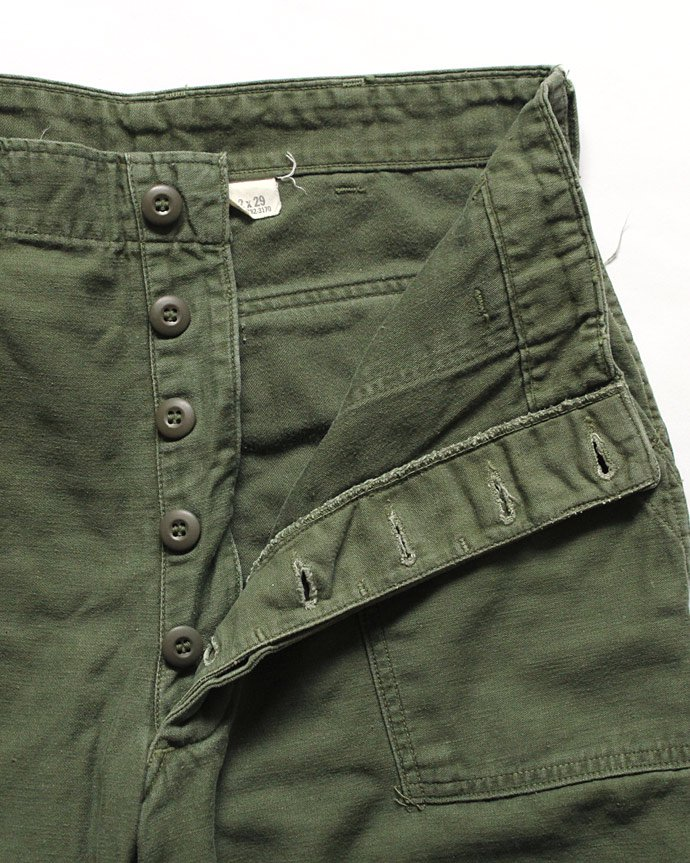 happening U.S. ARMY / 70s Utility Pants ユーティリティーパンツ 32x29 02