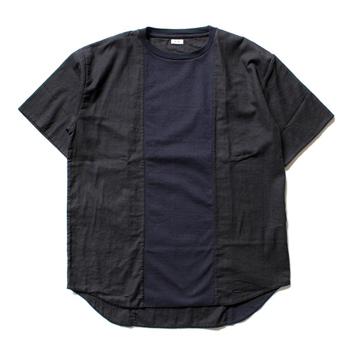 113176267 blurhms / Switch Over Tee BHS-CF17101 - Navy<img class='new_mark_img2' src='//img.shop-pro.jp/img/new/icons47.gif' style='border:none;display:inline;margin:0px;padding:0px;width:auto;' /> 01